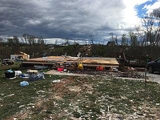 Tornado outbreak of April 13–15, 2018
