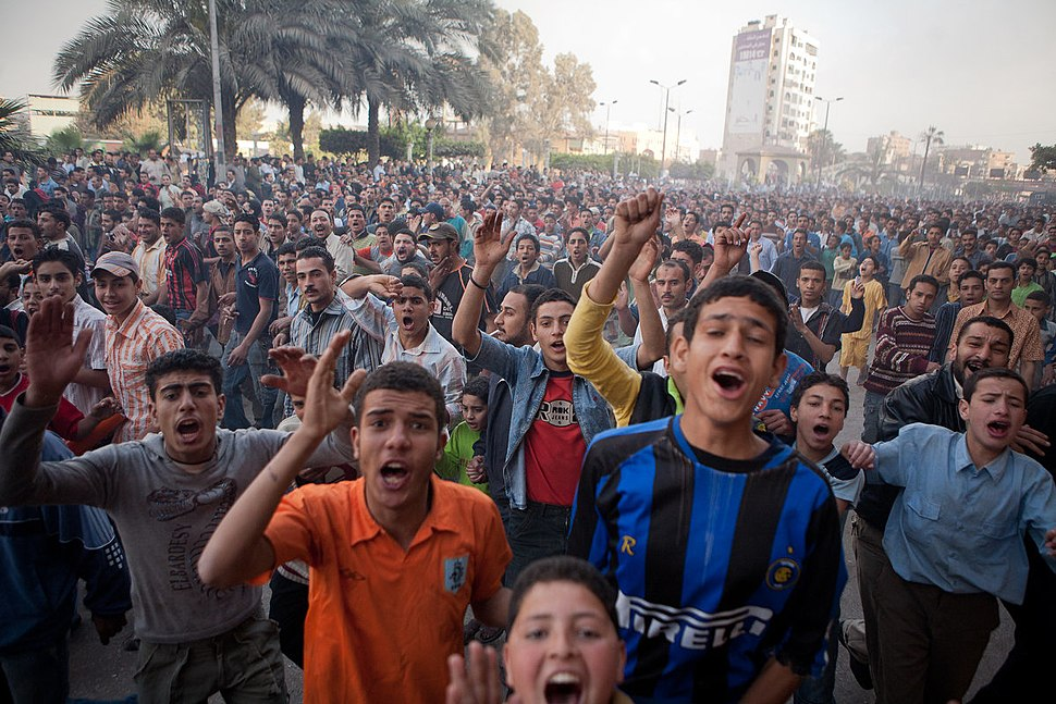 April 2008 uprisings in Mahalla, Egypt