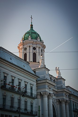 Religion in Romania - St. Anthony of Padua Catholic Cathedral in Arad