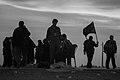 Arba'een In Mehran City 2016 - Iran (Black And White Photography-Mostafa Meraji) اربعین در مهران- ایران- عکس های سیاه و سفید 38.jpg