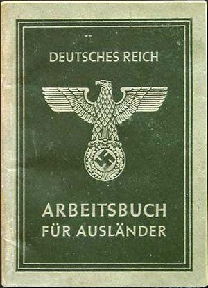 English: Arbeitsbuch für Ausländer (Employment...