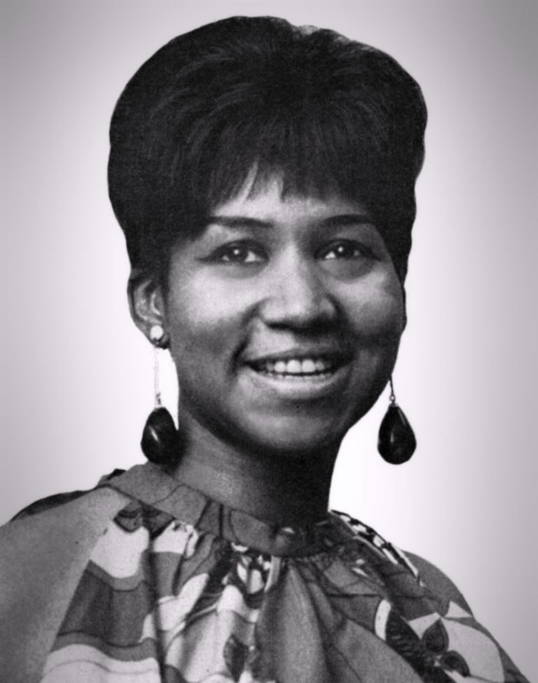 Aretha franklin 1960s cropped retouched