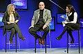 Arianna Huffington, Muhtar A. Kent and Sheryl Sandberg.jpg