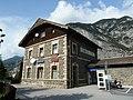 Arlbergbahn, Bahnhofsgebäude Kematen in Tirol, Südansicht.jpg