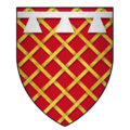 Arms of Sir James Audeley, KG.png