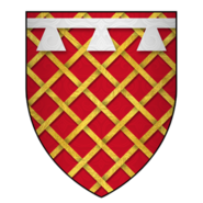 Arms of Sir James Audeley, KG