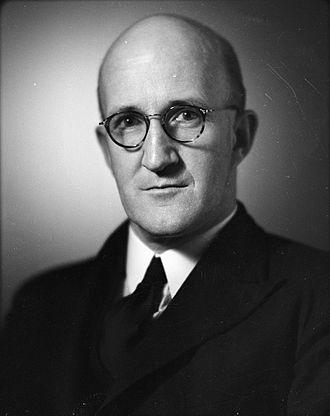 1963 New Zealand general election - Image: Arnold Nordmeyer (1950)