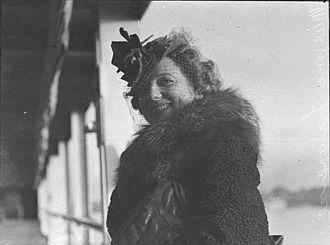 Marjorie Lawrence - Marjorie Lawrence, 12 June 1939