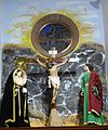 Artenara Iglesia de San Mathías - Innenraum 6 Kreuzigungsgruppe.jpg