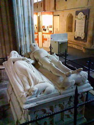 English church monuments - The subject of An Arundel Tomb