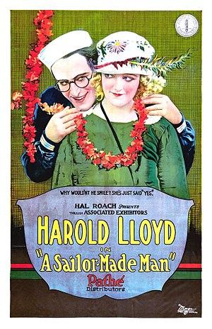 A Sailor-Made Man - Film poster