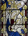 Ashwell, St Mary's church, Stained glass window detail (40185144670).jpg