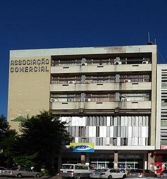 Timeline of Beira, Mozambique - Image: Associação Comercial de Beira