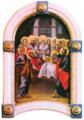 Asumption Toma Vishanov Budakalasz Saint Gabriel Church Icon.png