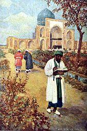 Omar Khayyam painting