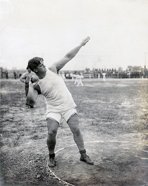 File:Athlete getting set for the shot put at the 1904 Olympics.jpg
