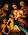 Attrib. a Girolamo Siciolante da Sermoneta - La Sacra Famiglia con il Bambino Giovanni Battista e Santa Elisabetta.jpg