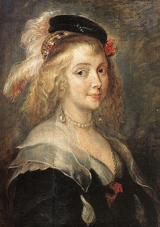 Helena Fourment - Helena Fourment, c. 1630, by Jan Boeckhorst