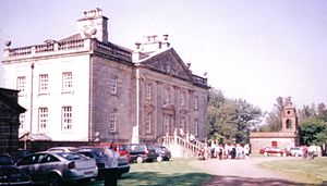 Auchinleck - Auchinleck House in 2005