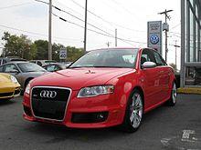 Audi RS Wikipédia - 2005 audi rs4