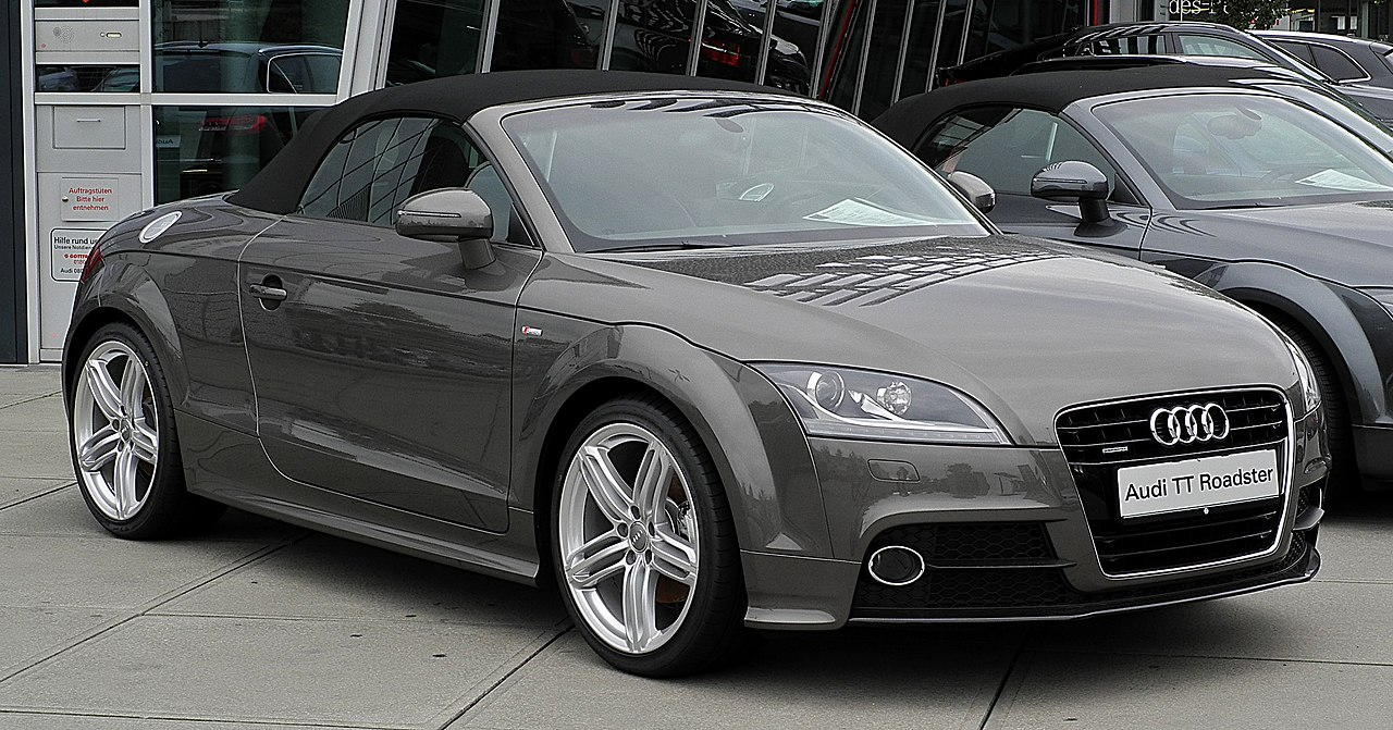 file audi tt roadster 2 0 tfsi quattro s line 8j facelift frontansicht 3 juli 2011 essen. Black Bedroom Furniture Sets. Home Design Ideas