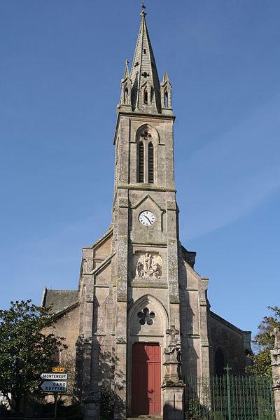 Église Saint-Marc-Saint-Joseph d'Augan.