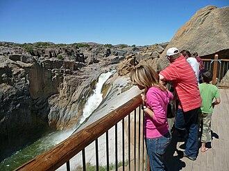 Augrabies Falls - Image: Augrabies Falls 1
