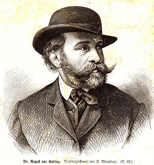 August von Kreling - August von Kreling (ca. 1875)