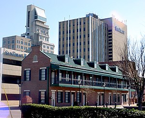 Central Savannah River Area - Downtown Augusta on Broad Street