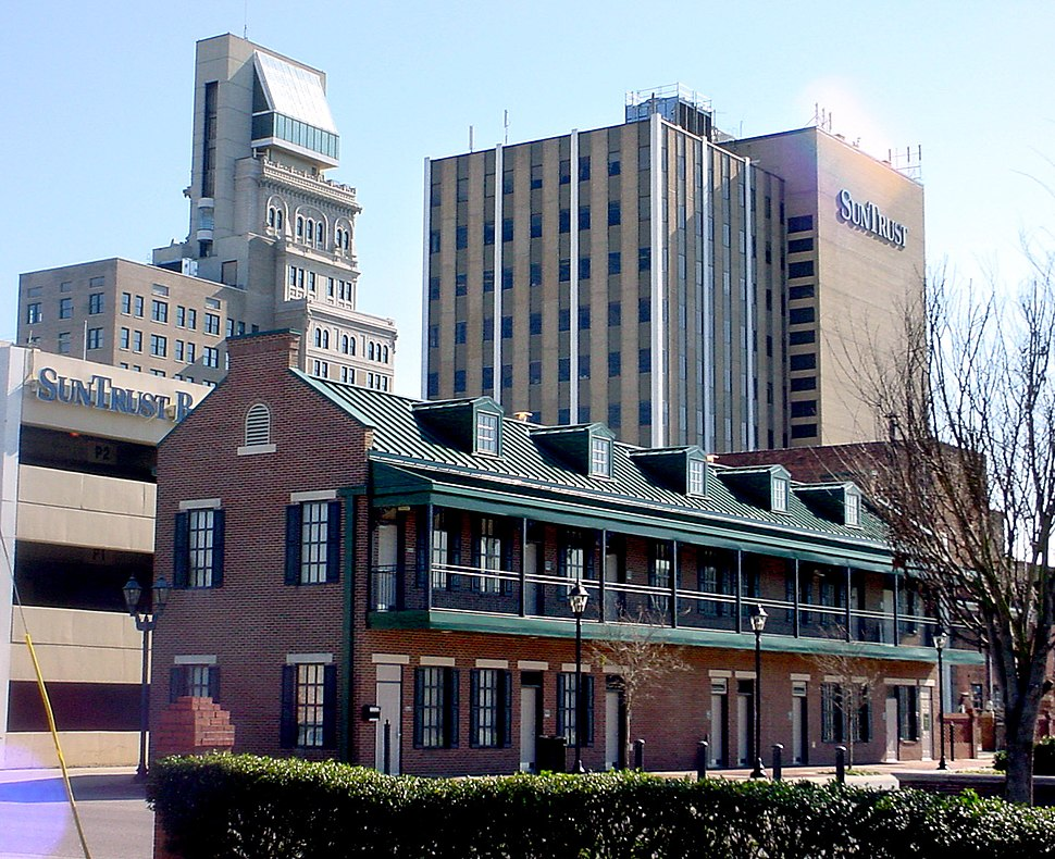 Augusta Common and Lamar Building Augusta GA