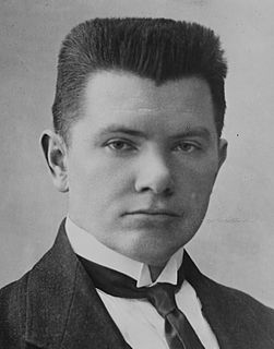 Augustinas Voldemaras Prime Minister of Lithuania