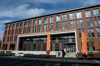 Oregon State University College of Business - Austin Hall, home of the COB