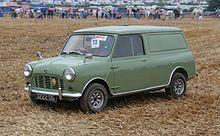 404ac44f59 1963 Austin Mini Van