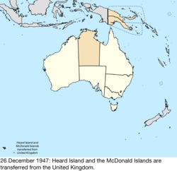 Map Of Australia Islands.Territorial Evolution Of Australia Wikipedia