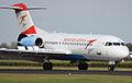 Austrian Arrows Fokker 70 @ Schiphol (3898444922).jpg