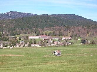 Autrans-Méaudre-en-Vercors - A general view of Autrans