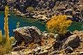 Autumnal trees and upper kachura lake.jpg
