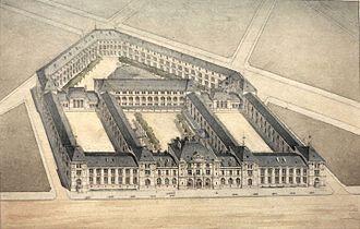 Lycée Voltaire (Paris) - Image: Avant projet lycee Voltaire Eugene Train IMG 8152