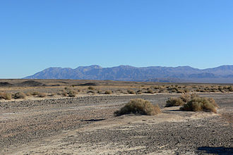 Avawatz Mountains - Seen from the north, in Death Valley