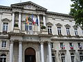 Avignon-Hotel deVille-Rathaus von Avignon 1845-1856 von leon Feucheres erbaut-Place de le Horloge 1..JPG