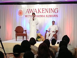Suresh Oberoi - Awakening with Brahmakumaris program in Bangkok