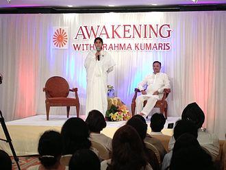 Brahma Kumaris - BK Sister Shivani Verma and Suresh Oberoi in Bangkok on the pay-to-broadcast television program Awakening with Brahma Kumaris