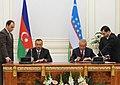 Azerbaijan-Uzbekistan documents signed, 2010 02.jpg