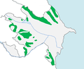 Azerbaijan forests map.png