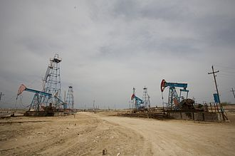 Petroleum industry in Azerbaijan - Onshore oil fields in Azerbaijan