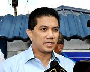 Mohamed Azmin Ali - Image: Azmin MP Kepong
