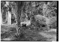 BAKE OVEN WITH RUIN OF UNIDENTIFIED STRUCTURE IN BACKGROUND - Estate Reef Bay, Service Buildings, Reef Bay, St. John, VI HABS VI,2-REBA,1-B-3.tif