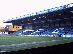 Gigg Lane - Cemetery End at Gigg Lane