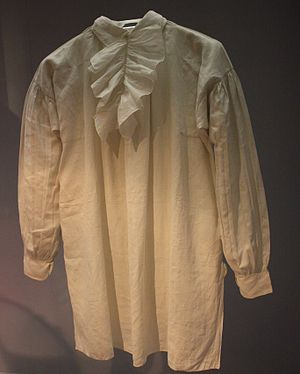 Shirt 1846 Britain Linen (marked in ink with J...