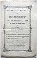 Bach-Verein zu Düsseldorf - Programm 20. Oktober 1878.JPG